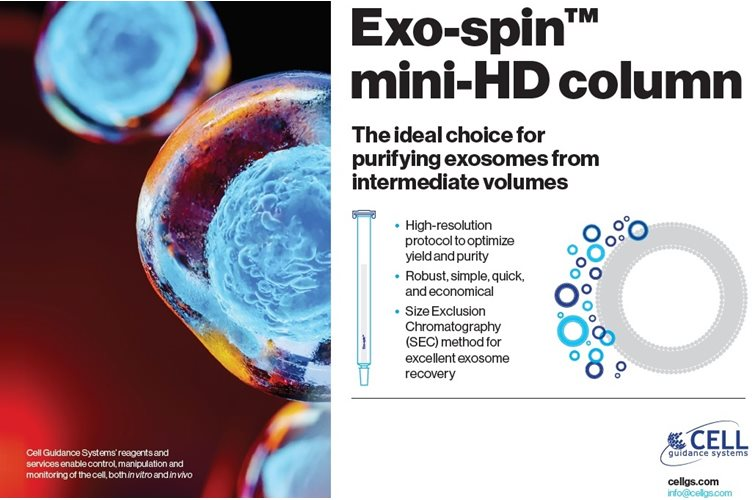 New product launch  >  Exo-spin™ mini-HD column