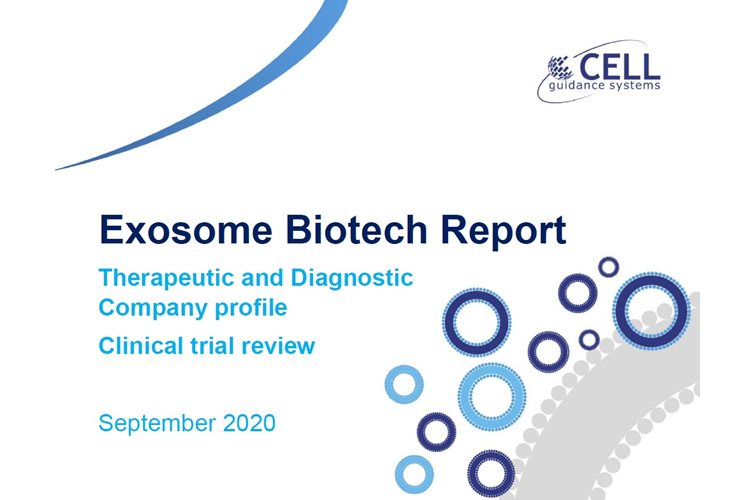 Exosome Biotech report Sept 2020